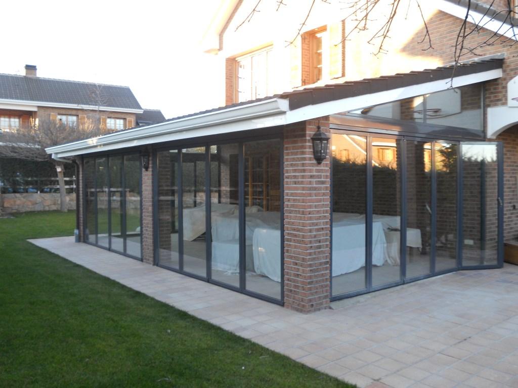 Cerramientos plegables para jardines aticos terrazas - Cerramiento de galerias ...
